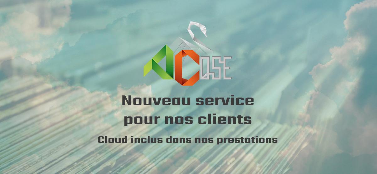 INFO : nouveau service Cloud pour nos clients