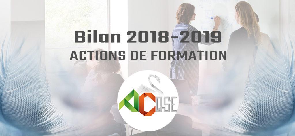 Bilan 2018-2019 FORMATION