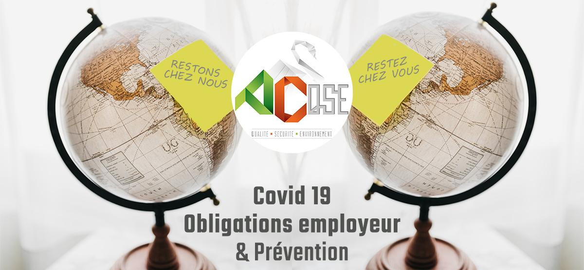 Lire l'article : Les obligations de l'employeur en cas de pandémie / COVID 19