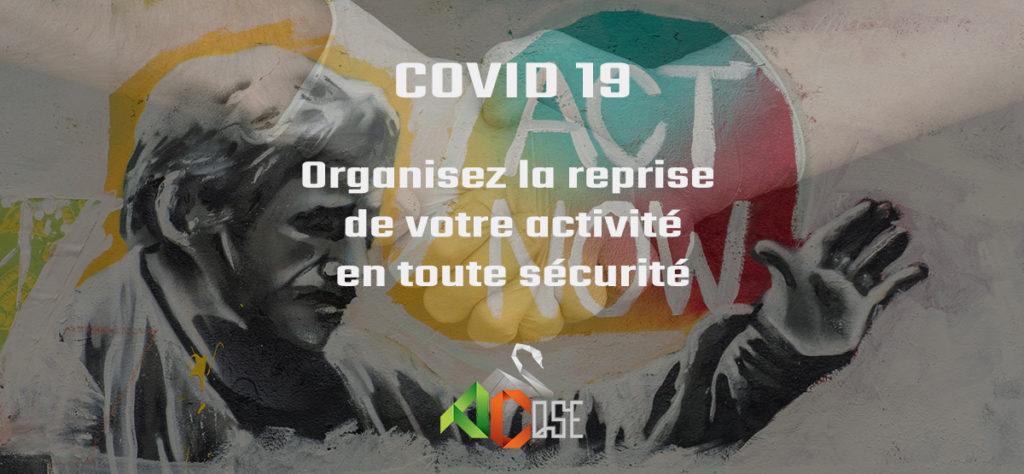 Actu COVID19 Organisez la reprise